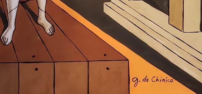 Giorgio de Chirico (Gouache on Paper) - 3