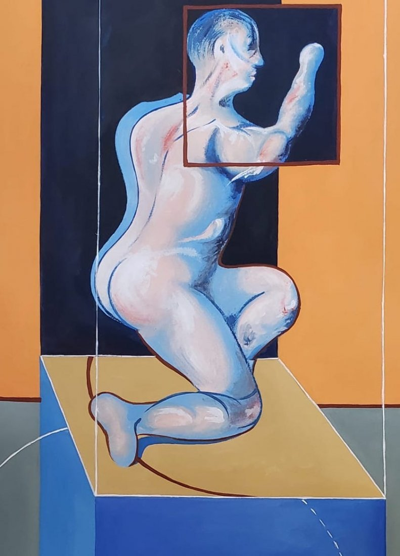 Signed Francis Bacon - 2