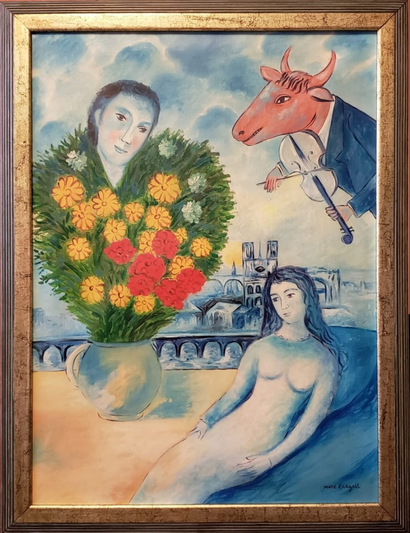 Marc Chagall (Oil on canvas) - 2
