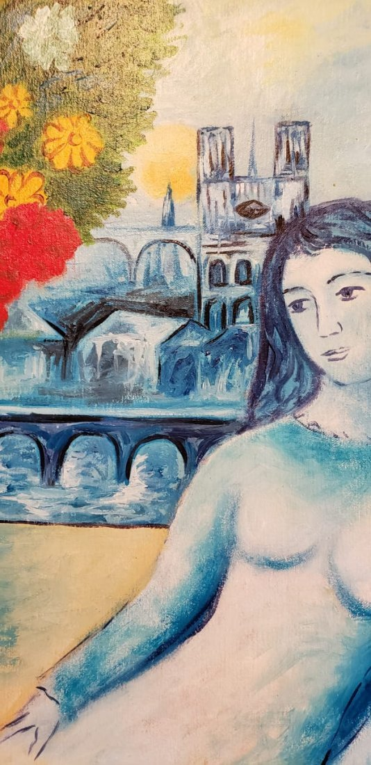Marc Chagall (Oil on canvas) - 3