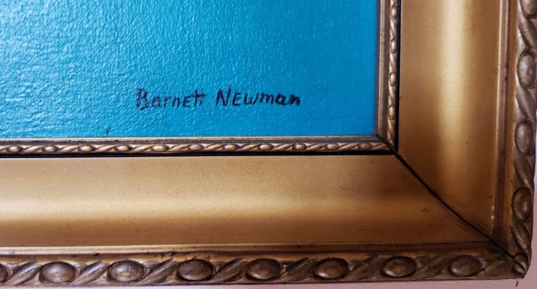 Barnett Newman (Oil on Canvas) - 3