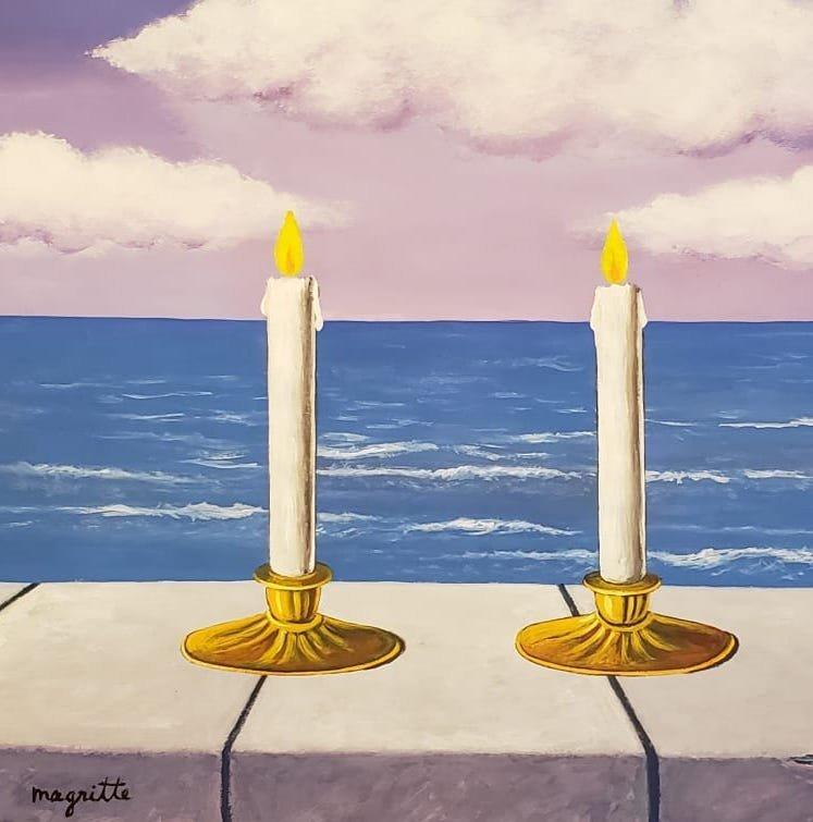 Rene Magritte (Gouache on paper) - 2