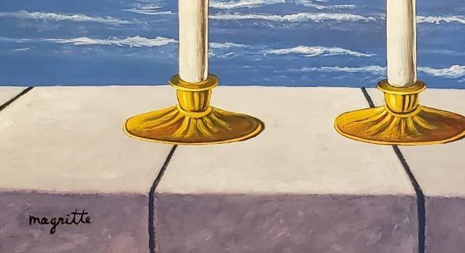 Rene Magritte (Gouache on paper) - 3