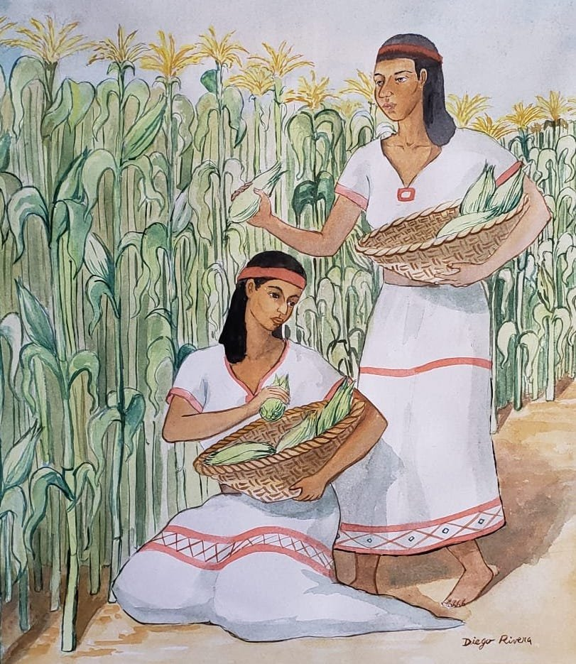 Diego Rivera (Watercolor on Paper) - 2