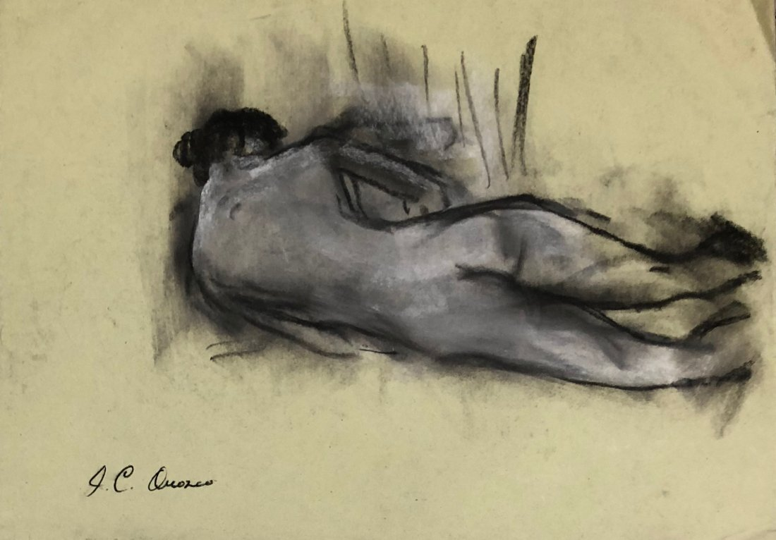 Jose Clemente Orozco (Mixed Media on Paper)