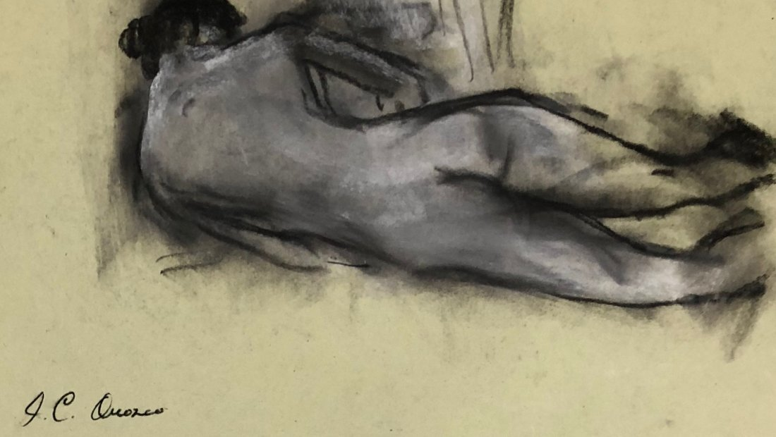 Jose Clemente Orozco (Mixed Media on Paper) - 2