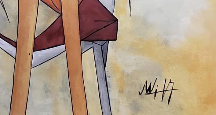 Wifredo Lam (Gouache on Paper) - 3