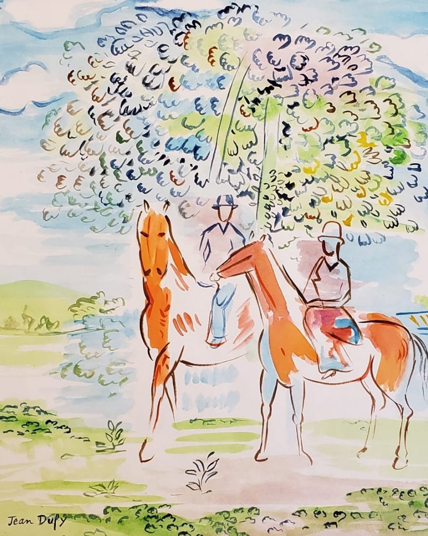 Signed Jean Dufy - 2