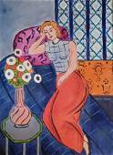 Henri Matisse (Oil on Canvas)