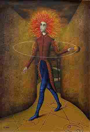 Remedios Varo (Oil on Canvas)