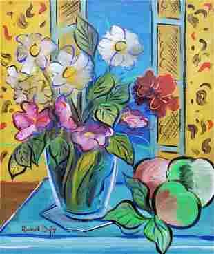 Raoul Dufy (Oil on Canvas)