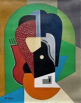 Albert Gleizes (Oil on Canvas)