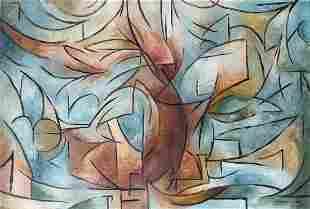 Piet Mondrian (Oil on Canvas)