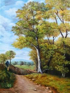 John Constable (Oil on Canvas)