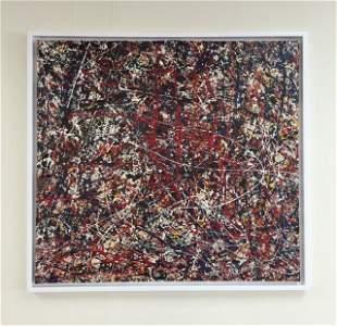 Jackson Pollock (Enamel on canvas) V$160,000