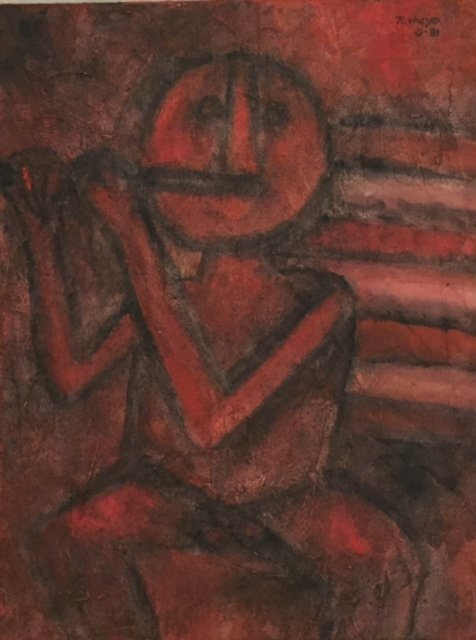 Rufino Tamayo (Oil on canvas)