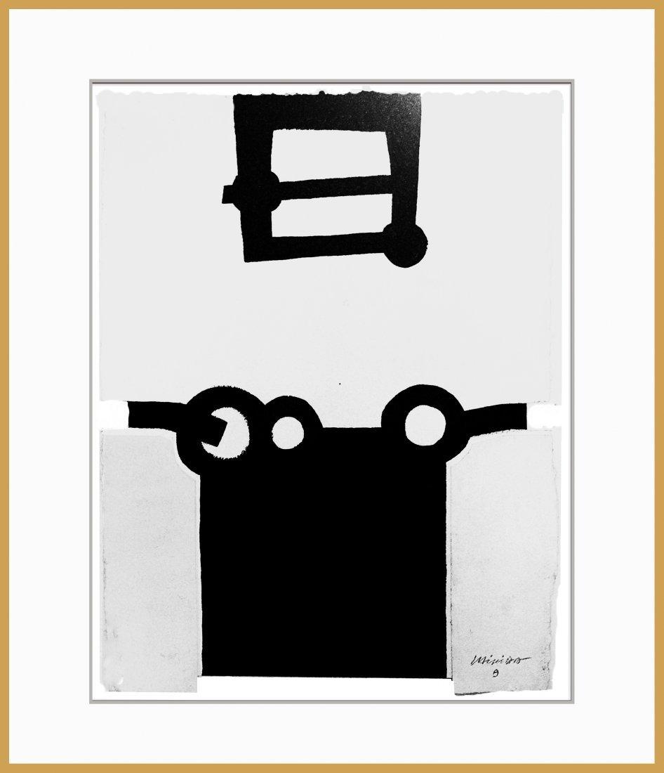 Eduardo Chillida (Ink on hard paper)