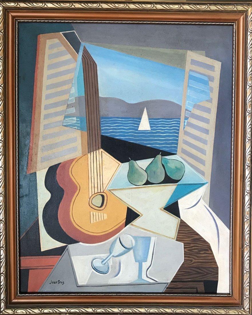 Juan Gris (1887-1927) Oil on canvas