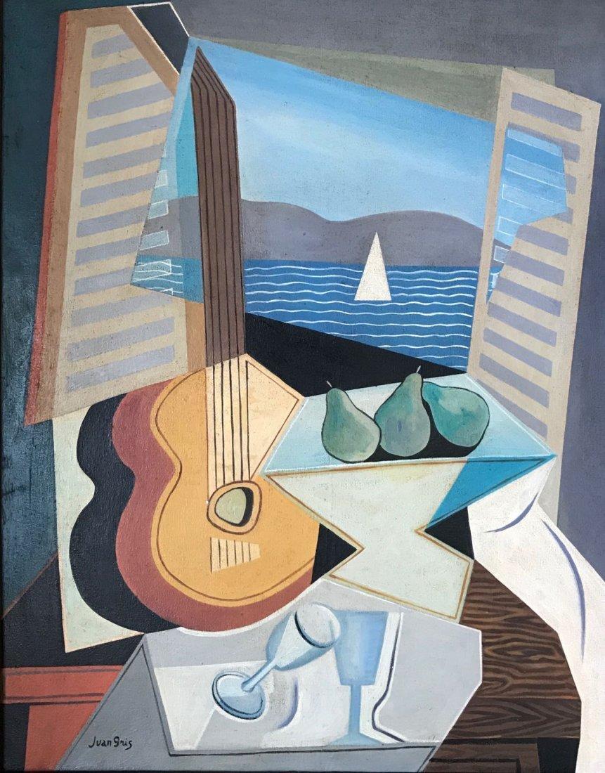 Juan Gris (1887-1927) Oil on canvas - 2
