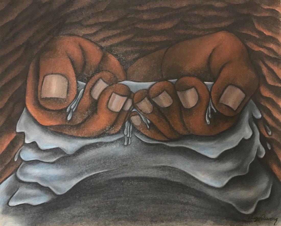 Diego Rivera  (colored pencil)