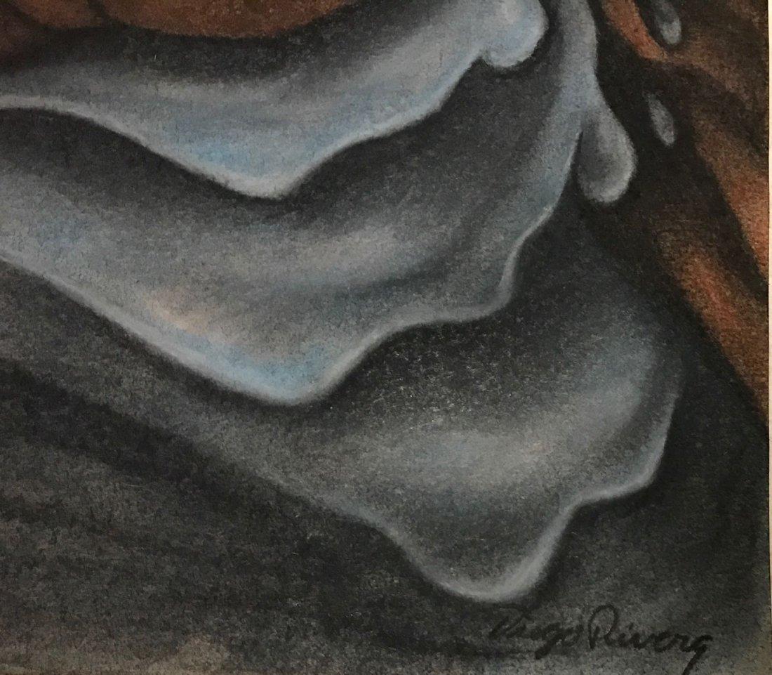 Diego Rivera  (colored pencil) - 2