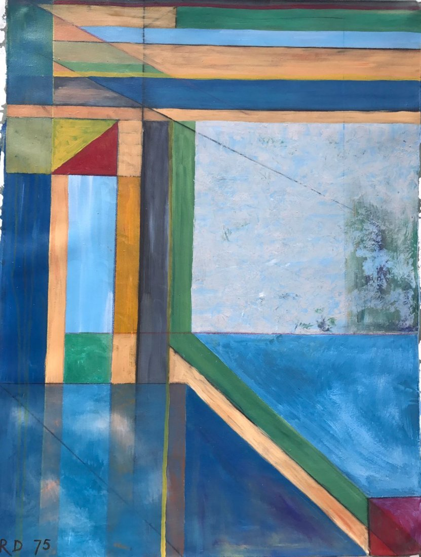 Richard Diebenkorn (1922-1993) Oil on Canvas - 2
