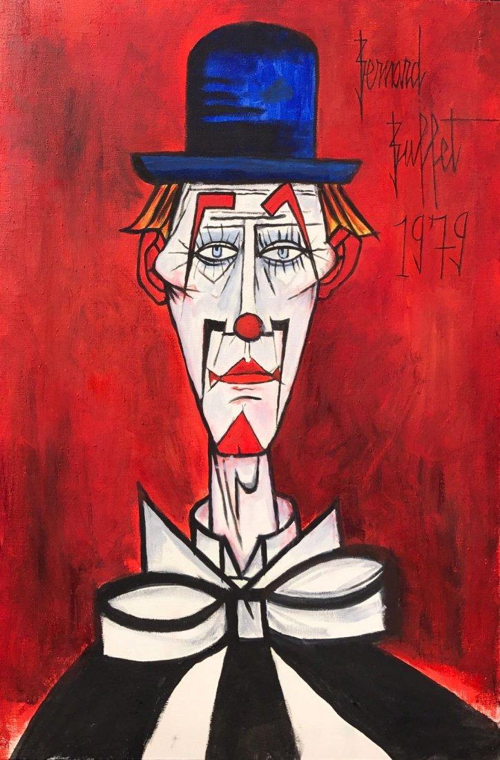 Bernard Buffet (1928-1999) Oil on canvas