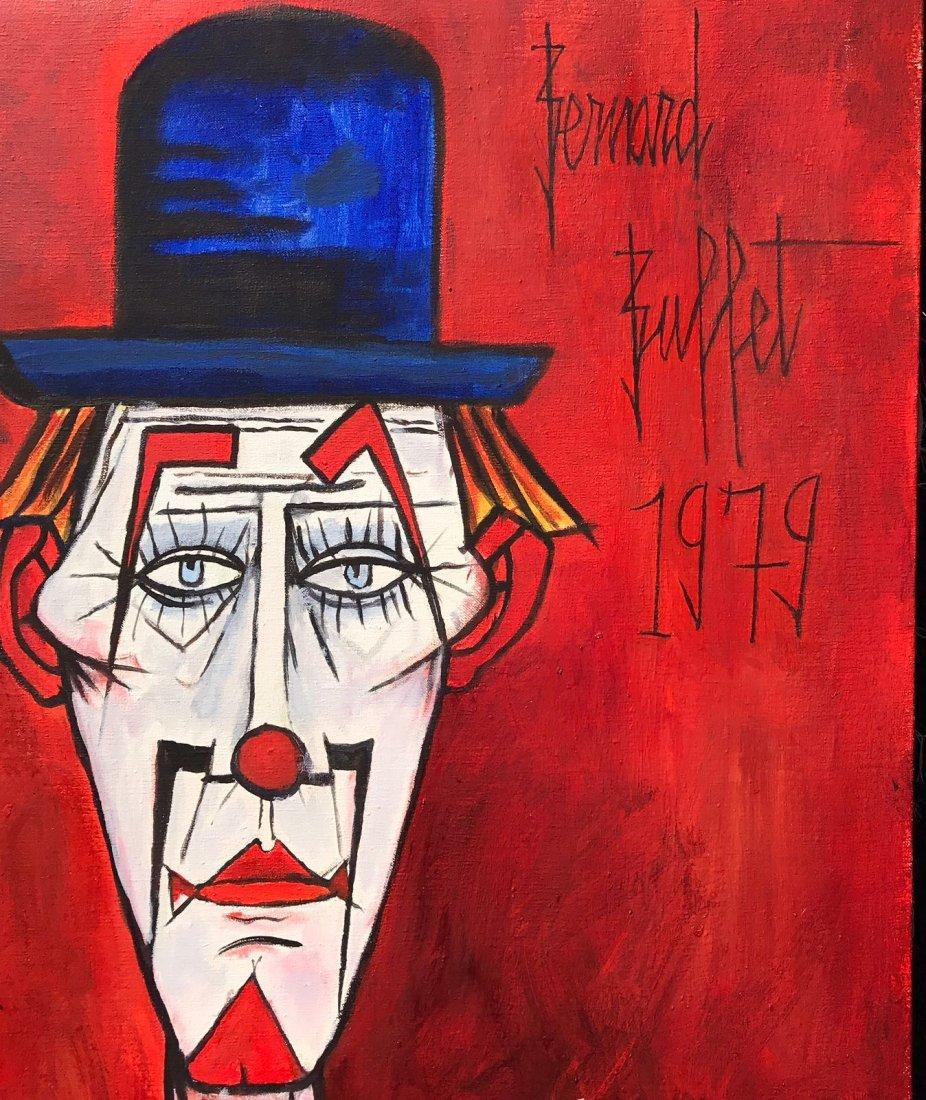 Bernard Buffet (1928-1999) Oil on canvas - 2