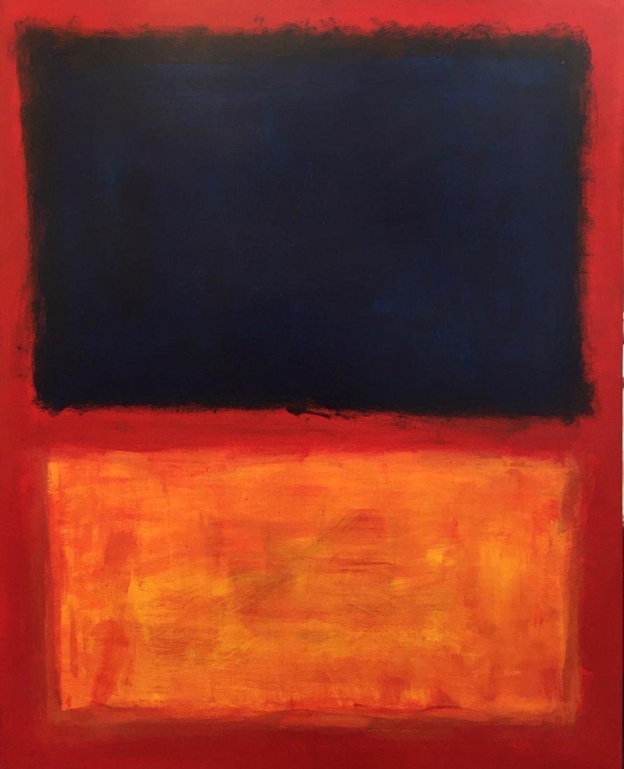 Mark Rothko (1903-1970) Oil On Board