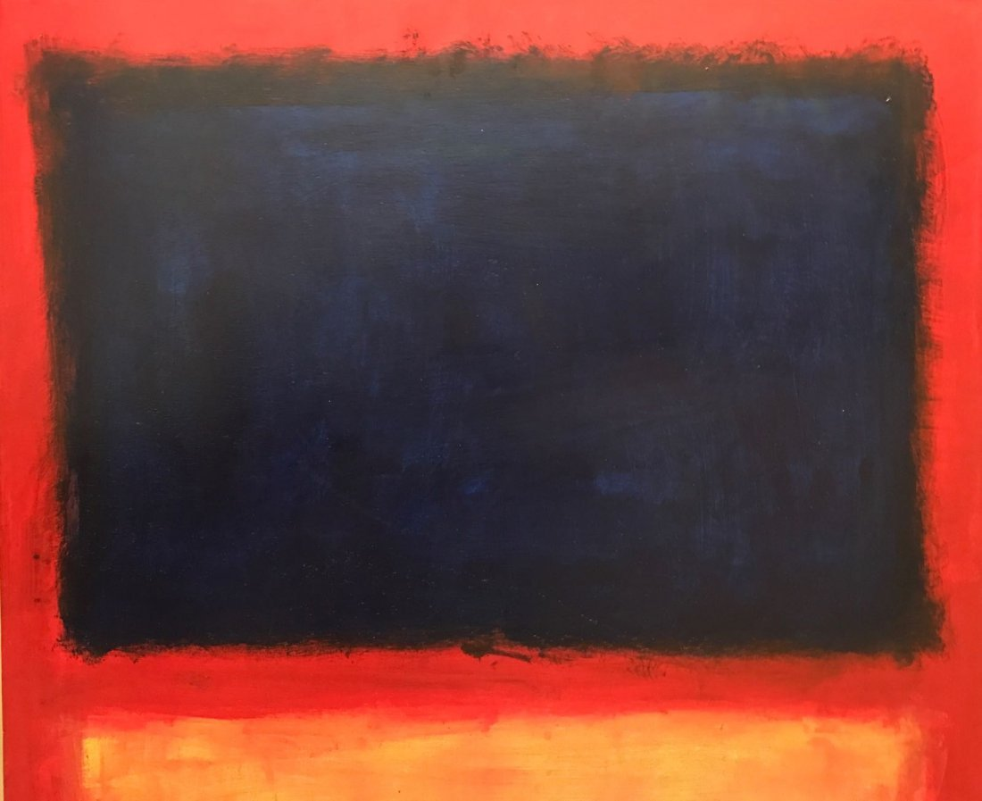 Mark Rothko (1903-1970) Oil On Board - 2