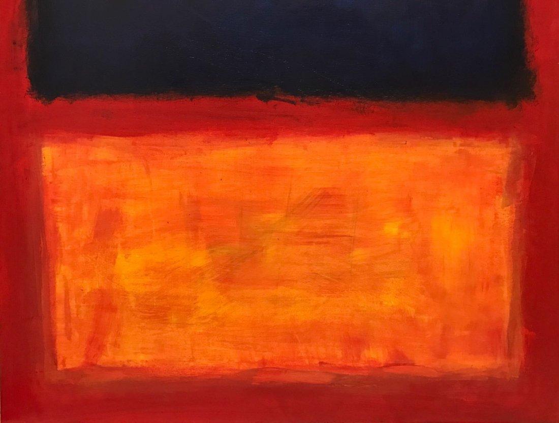 Mark Rothko (1903-1970) Oil On Board - 3