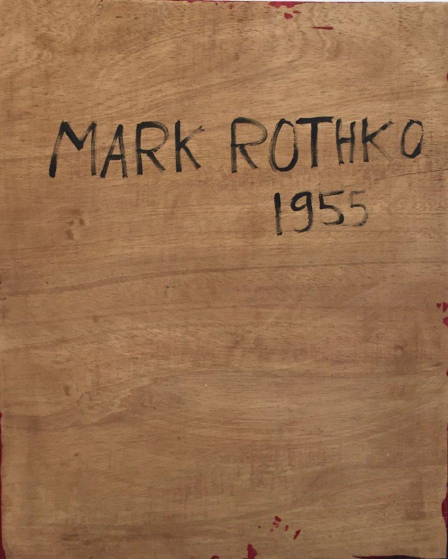 Mark Rothko (1903-1970) Oil On Board - 4