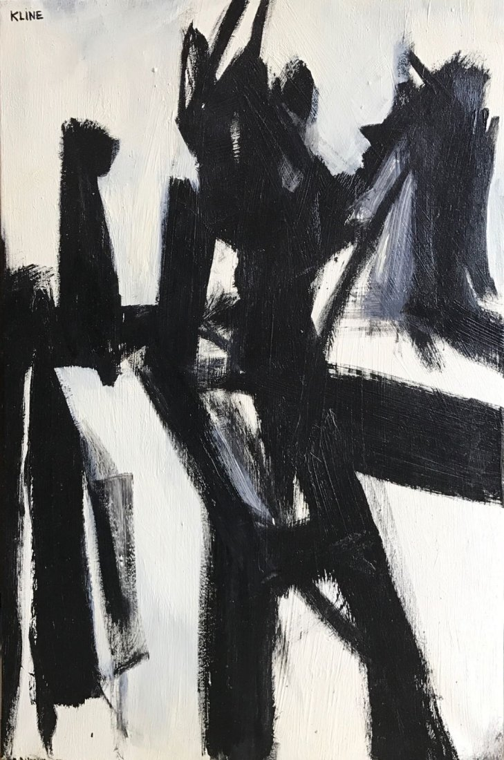 Franz Kline (1910-1962) Oil On Canvas