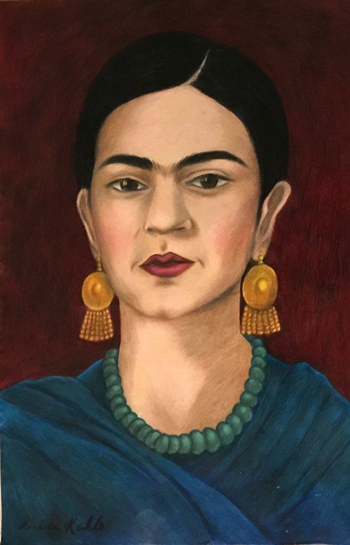 Frida Kahlo (1907-1954) Drawing on Paper