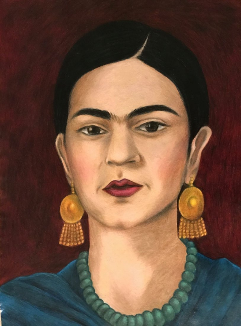Frida Kahlo (1907-1954) Drawing on Paper - 2