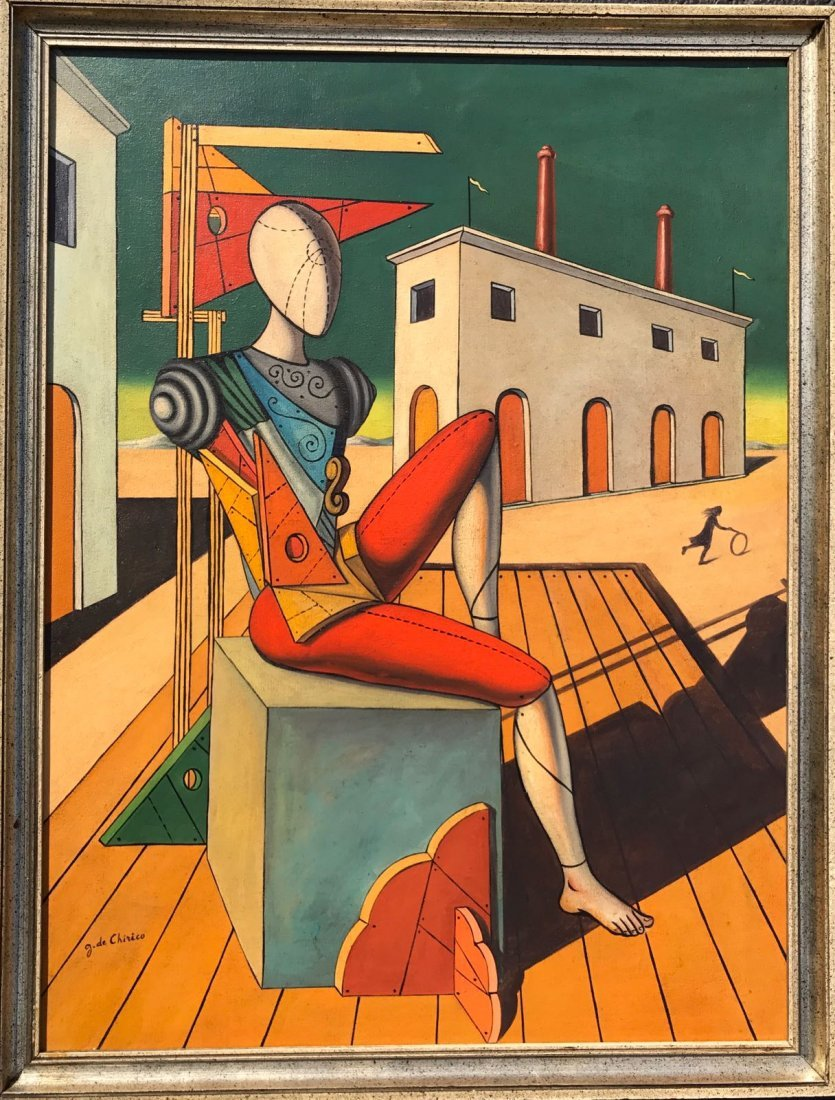 Giorgio De Chirico (1888-1978) Oil On Canvas - 2