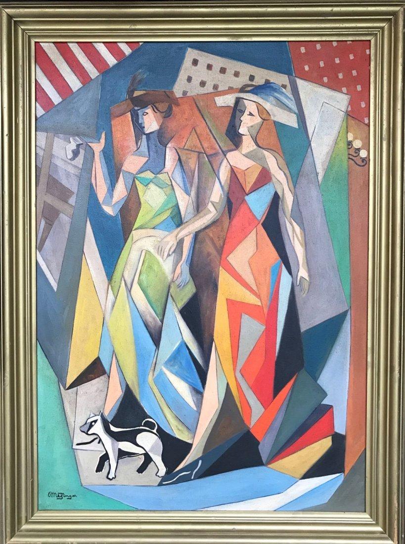 Jean Metzinger (1883-1956) Oil on canvas