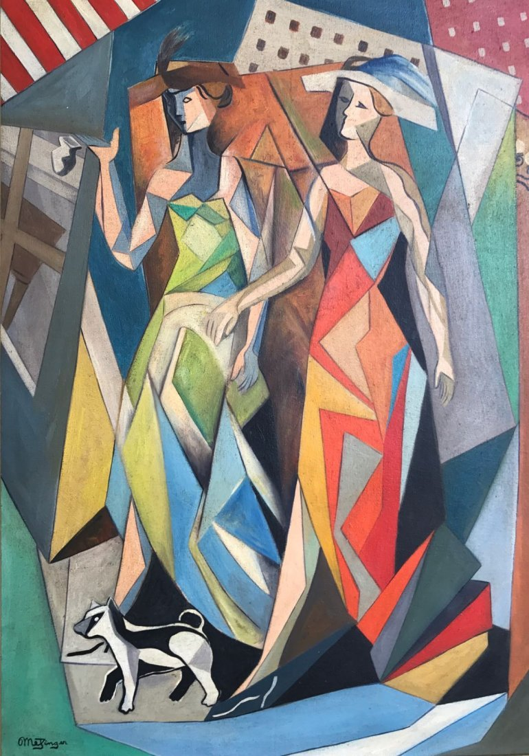 Jean Metzinger (1883-1956) Oil on canvas - 2