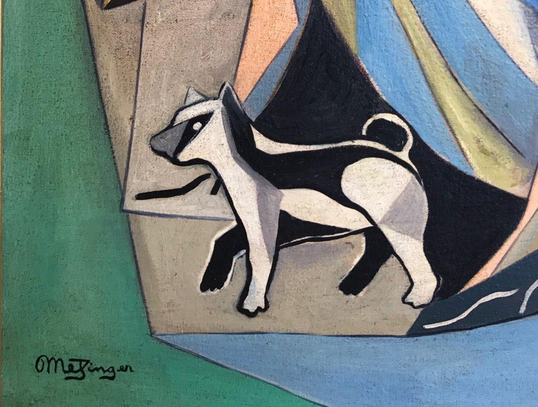 Jean Metzinger (1883-1956) Oil on canvas - 3