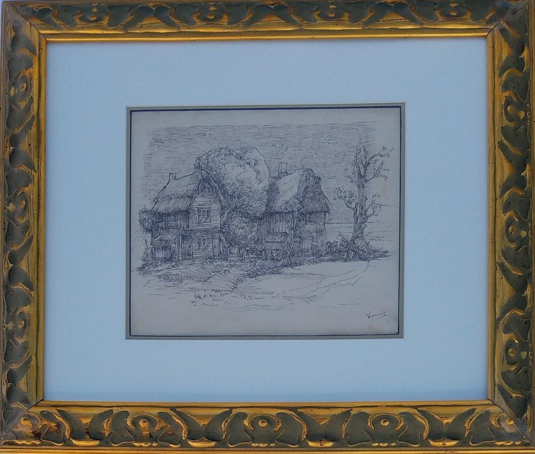 Vincent van Gogh (Ink on paper)