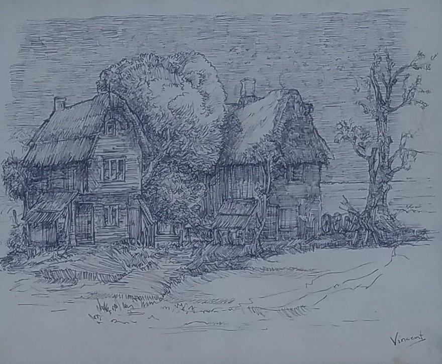 Vincent van Gogh (Ink on paper) - 2
