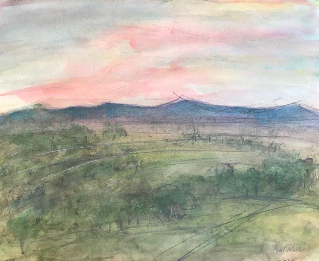 Paul Nash (1889-1946) Watercolor on paper