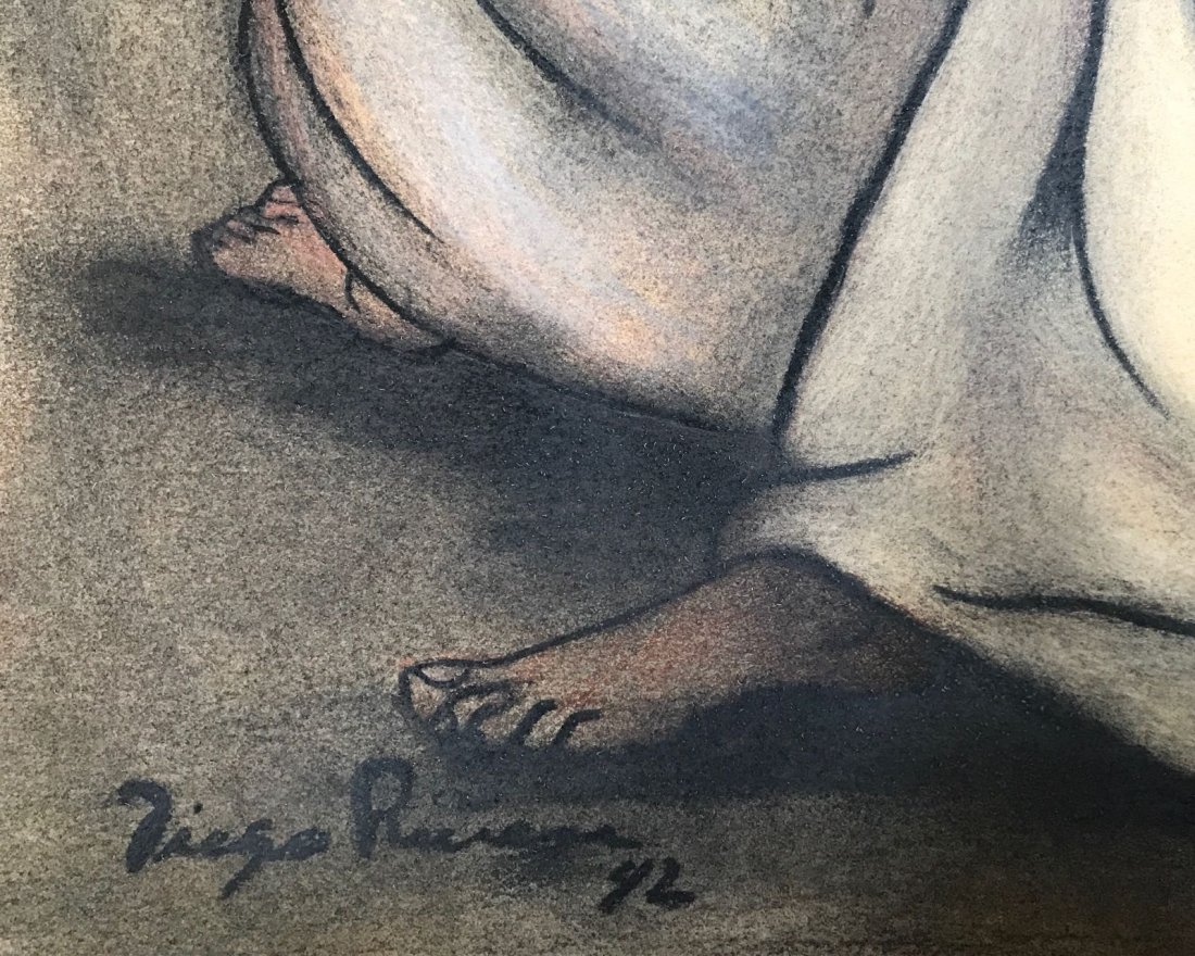 Diego Rivera (1886-1957) Charcoal on paper - 2