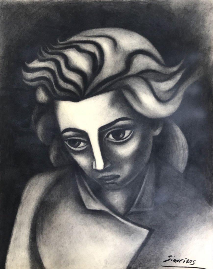 David Alfaro Siqueiros (1876-1974) Graphite on paper