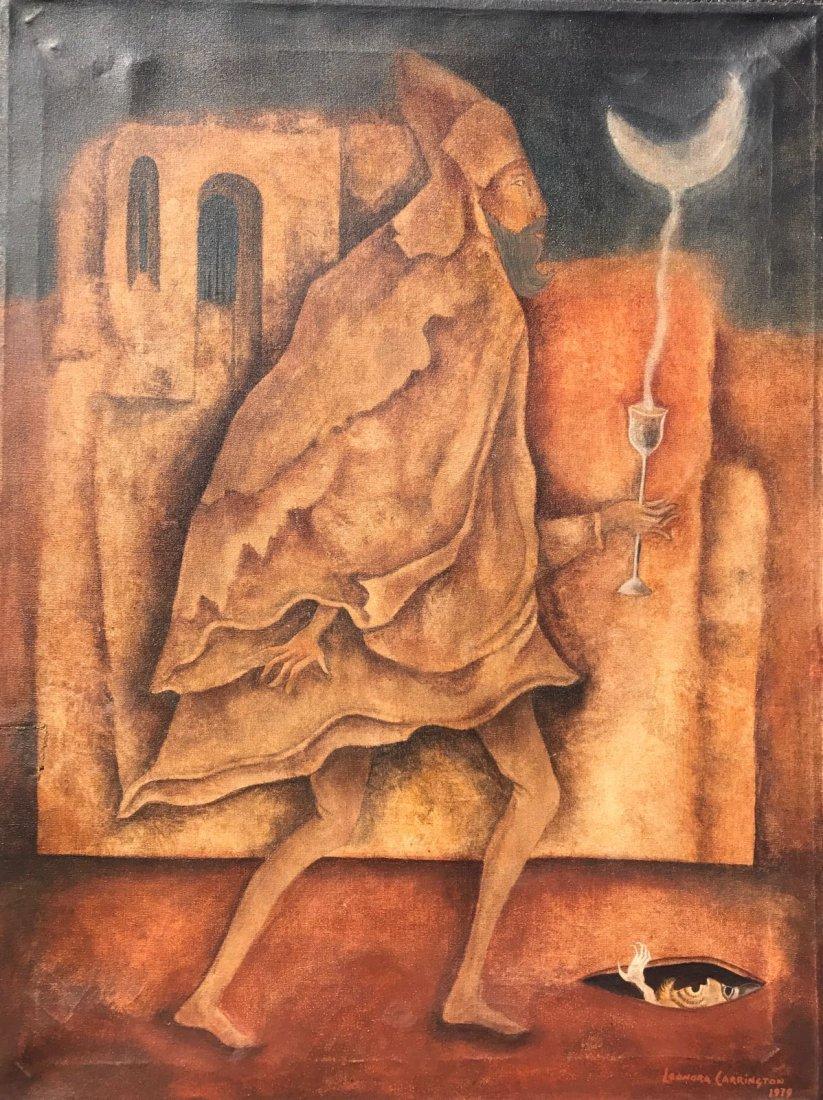 Leonora Carrington (1917-2011) Oil on canvas