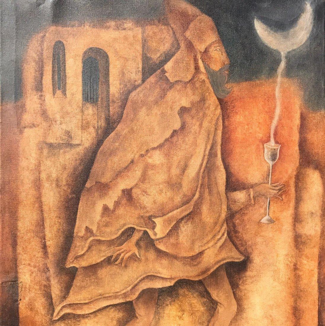 Leonora Carrington (1917-2011) Oil on canvas - 2