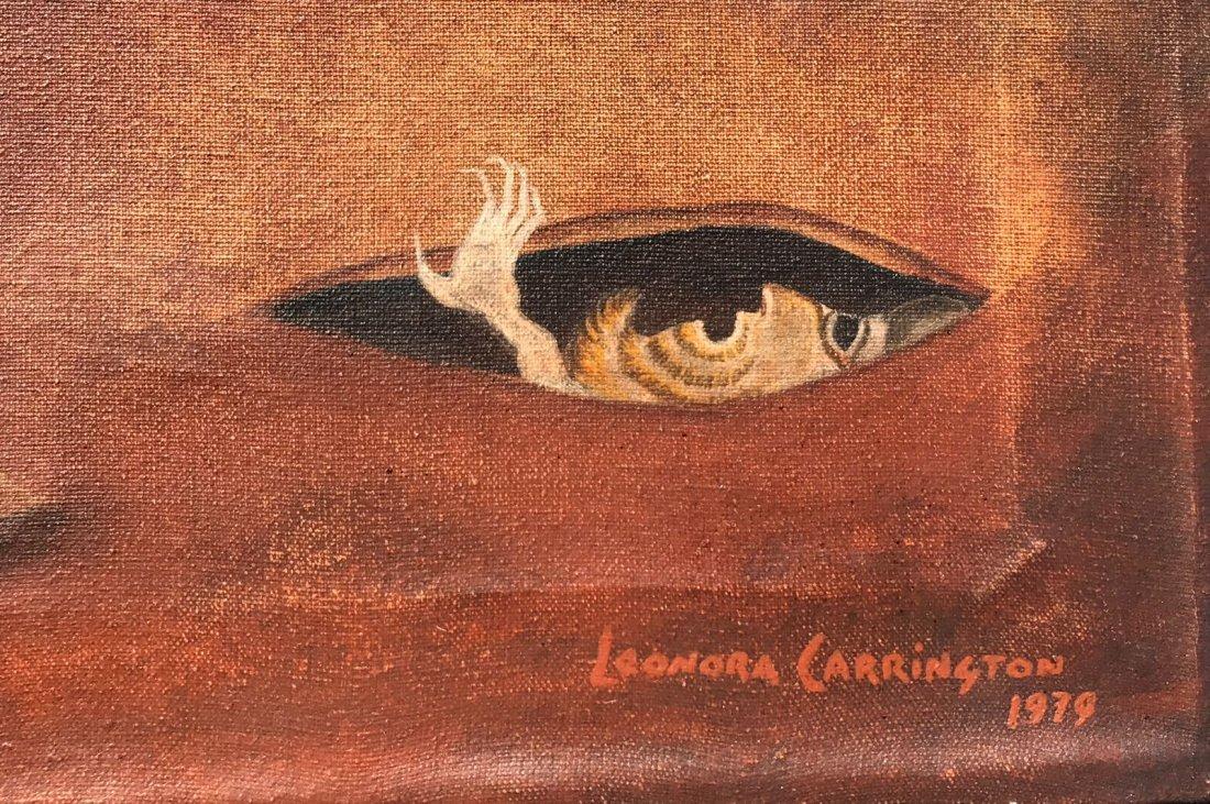 Leonora Carrington (1917-2011) Oil on canvas - 3