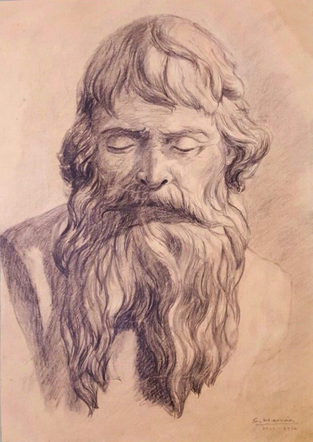 Saturnino Herran (Pencil on paper)