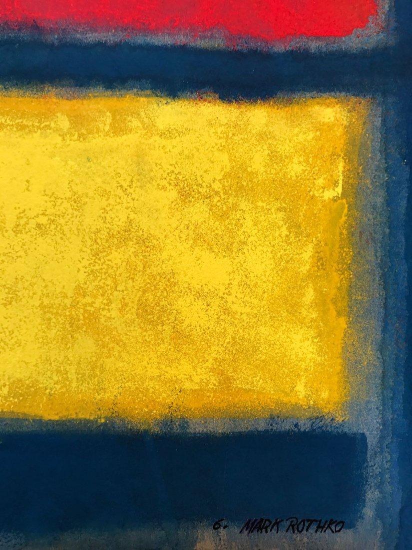 Mark Rothko Gouache on paper - 2