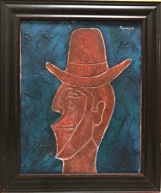 Rufino Tamayo (Oil on burlap) - 2